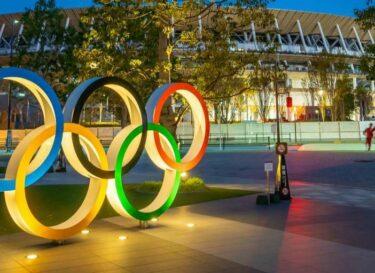 Tokyo olympische spelen ringen stadion change inc adobe stock
