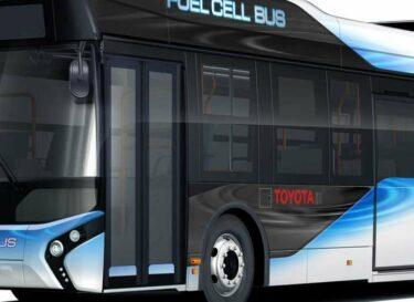 Toyota start verkoop fuel cell bussen in japan 1