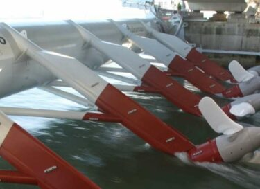 Turbines in water