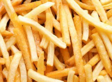 Voedselverspilling frites