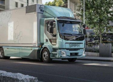 Volvo fl electric foto