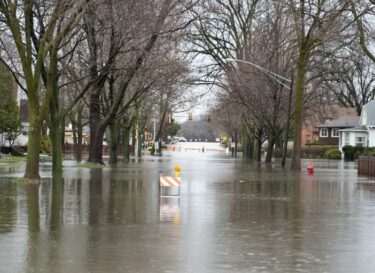 Wateroverlast water hoog water klimaatverandering