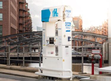 Waterstof tankstation duitsland hamburg change inc adobe stock
