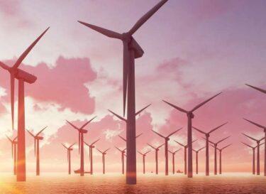 Wind op zee waterstof