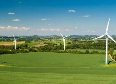 Windpark windenergie sde windmolen