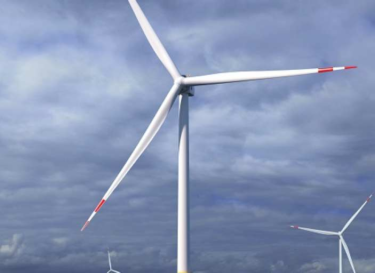 Windturbine drijvend kabels zee glosten