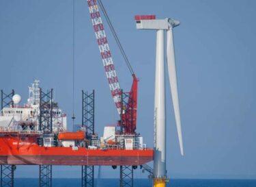 Windturbine installatie