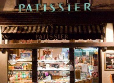 Winkelstraat Parijs