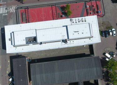Wit dak past bij klimaatambities amsterdam