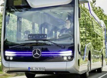 Zelfrijdende bus