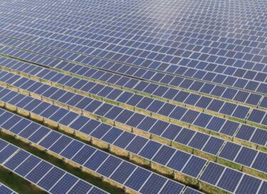 Zonne energie zonnepark