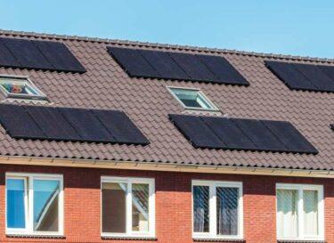 Zonnepanelen huizen woningen