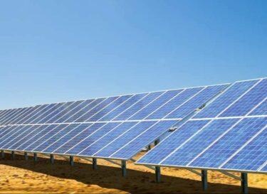 Zonnepanelen zonnepaneel zonne energie afrika