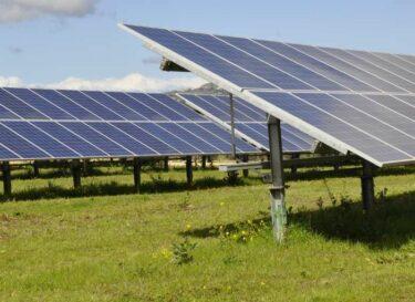Zonnepark elektriciteitsnet