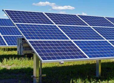 Zonnepark zonnepanelen zonne energie