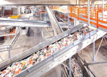 Zweden recycling site zero